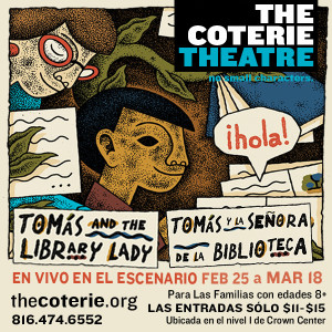 The Coterie presents Tomás and the Library Lady
